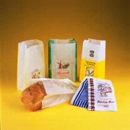 Broodzakken geparaffineerd naamdruk (Lux Pack)